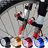 WALLER PAA Waterproof Bike Cycling Head Lamp Light Bicycle Flash Safety Tail + Mount 6 LED