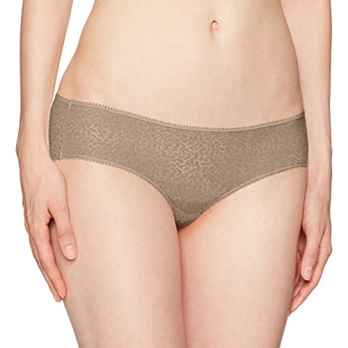 Dkny Lace Panty (DKNY Women's Modern Lace Trim Hipster, Champagne, Small)