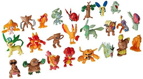 Olia Design Lots Of Large 2  Poekmon Pikachu Action Figures Toys 24 Pieces  2