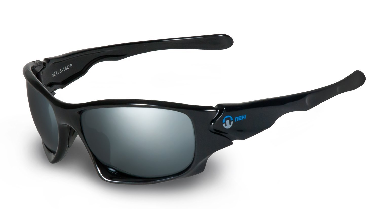Nexi Sportbrille Sonnenbrille S-14 ideal zum Autofahren mit Polarisation (nur Modell S-14-C-P)