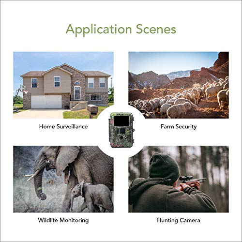 Boly 20MP Trail Camera with 'No Motion Blur' technology