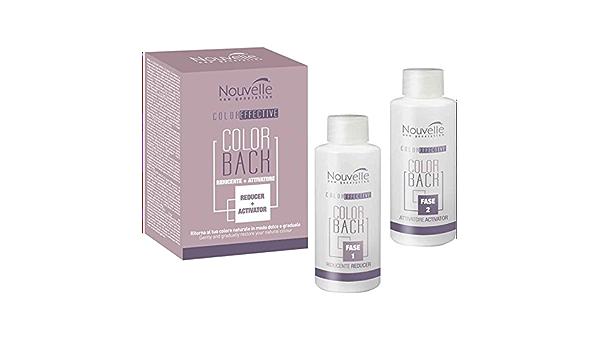 Nouvelle Color Back Corrección 100 ml + 100 ml Reduce agregado Artificial pigmentos 100 ml + 100 ml