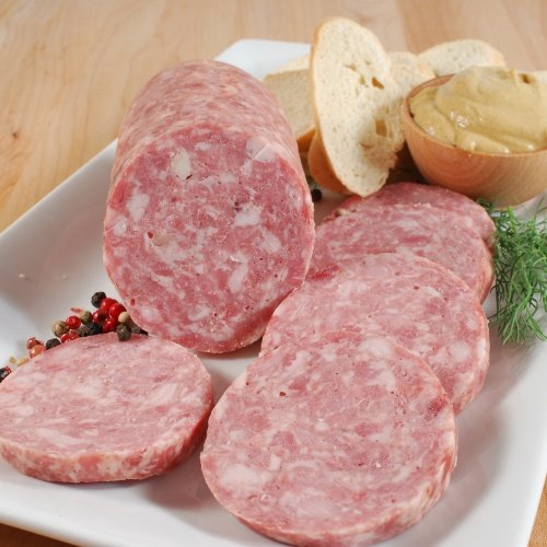Garlic Sausage - Saucisson a l Ail - 0.85-1 lb (avg. weight) by Terroirs d'Antan