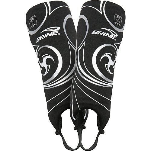 (Brine Triumph N6 Shin Guard, Black,)