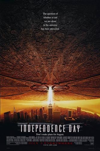 Independence Day Movie Poster 11x17 Master Print