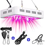 LED Grow Light 1000W with Adjustable Rope Hanger Full Spectrum Indoor Grow Lights for Plants Veg&Flower in Greenhouse Tent Plant(Replaced 1000W HPS Light,Actual Power Consumption 120-130W)