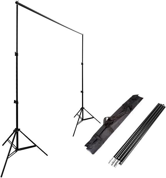 Ruili 2 4 X 3m Fotostudio Set Hintergrund Ständer Kamera