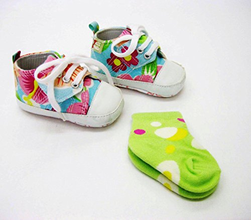 Zapatos y calcetines Set multicolor Talla:18 (9-12 months)