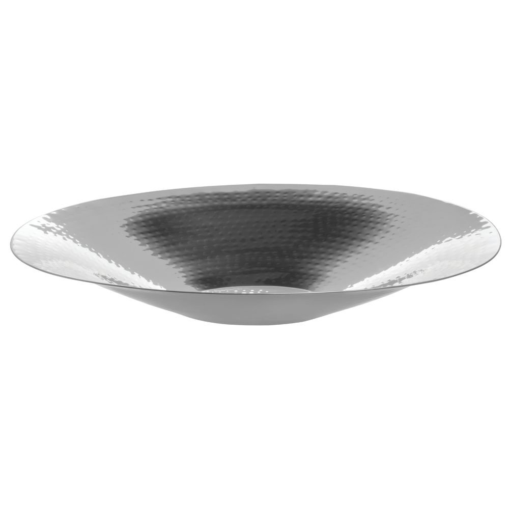 """American Metalcraft (HMOV1621) 20"""" Oval Hammered Stainless Steel Bowl"""