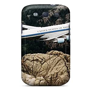 Premium Galaxy S3 Case - Protective Skin - High Quality For Aircraft Wallpapers Boeing 747