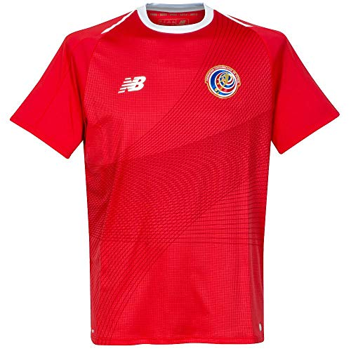 (New Balance Costa Rica Home Soccer Men's Jersey FIFA World Cup Russia 2018 (M) Red)