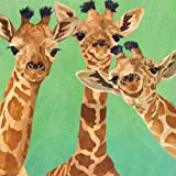 #8: Paperproducts Design PPD 1252725 Giraffe Amigos Beverage/Cocktail Paper Napkins,5