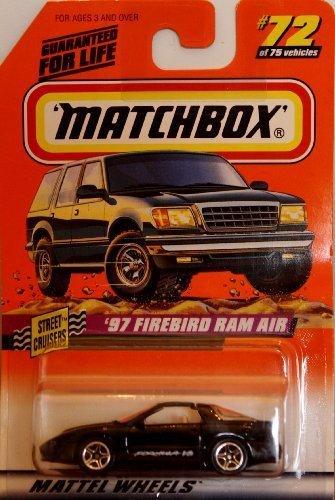 1998 Street Cruisers Series - '97 Firebird Ram Air by Matchbox