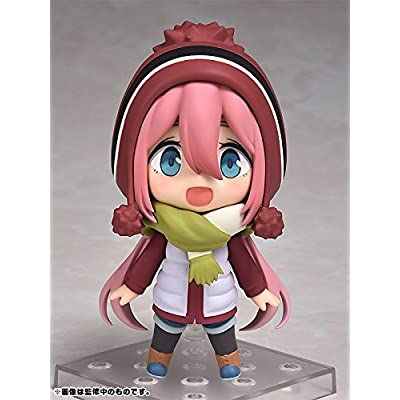 Max Factory Laid-Back Camp: Nadeshiko Kagamihara Nendoroid Action Figure: Toys & Games