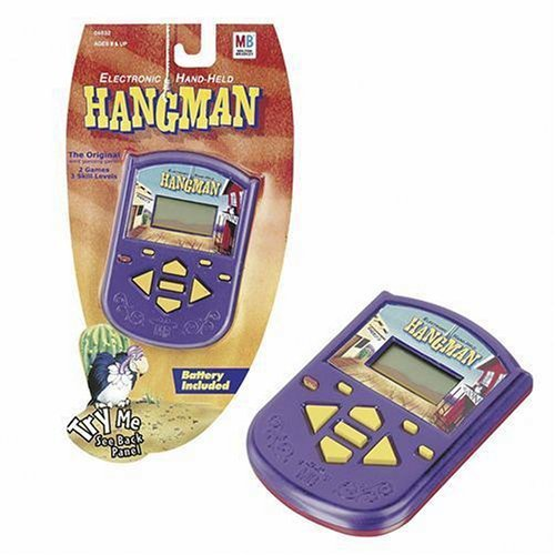Electric Hand Held Hangman by Hasbro [並行輸入品] B018MVJ0TA