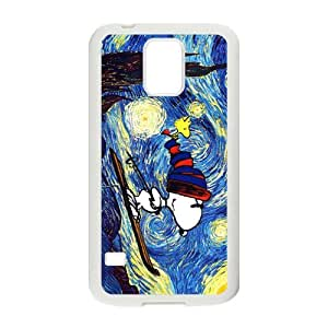 Van gogh starry night paintings snoopy Cell Phone Case for Samsung Galaxy S5