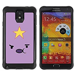 Suave TPU GEL Carcasa Funda Silicona Blando Estuche Caso de protección (para) Samsung Note 3 / CECELL Phone case / / Emoticon Pink Yellow Face Cartoon /