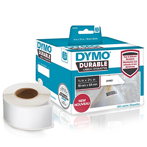 dymo-lw-durable-industrial-labels-for-labelwriter-label-printers-white-poly-3-4-x-2-1-2-2-rolls-of-4