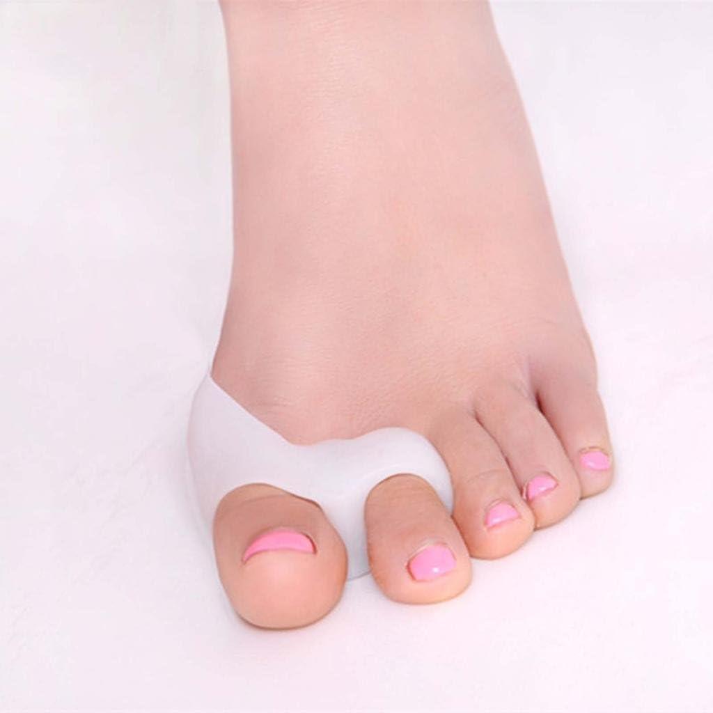 Arpoador silicona Gel Ortesis de pie separador de dedos ortopédico para juanetes