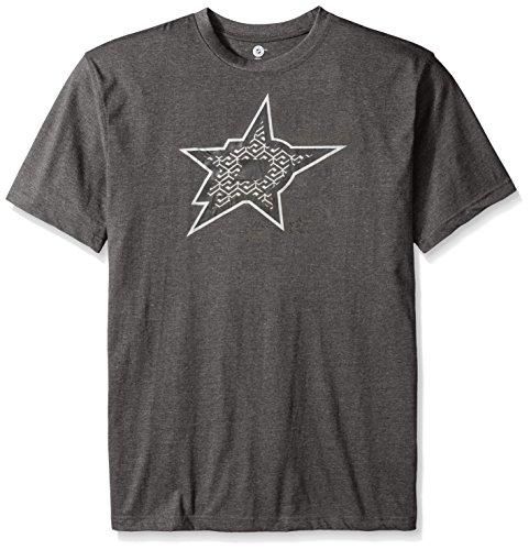 - NHL Dallas Stars Men's Short Sleeve Screen Print T-Shirt, 4X, Charcoal/Heather