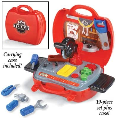 Amazon.com : Bigbolo My First Tool Set with Carrying Case - 19pc : Garden & Outdoor