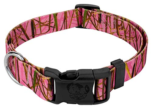 Country Brook Design - Deluxe Pink Waterfowl Camo Dog Collar - Large (10 Likes And Ill Answer These Questions)