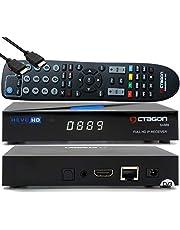OCTAGON SX889 HD H.265 IP HEVC Set-Top Box - Smart IPTV-ontvanger, kaartlezer, mediaserver, mediathek, DLNA, YouTube, webradio, app iOS en Android app, USB PVR, gratis HDMI-kabel