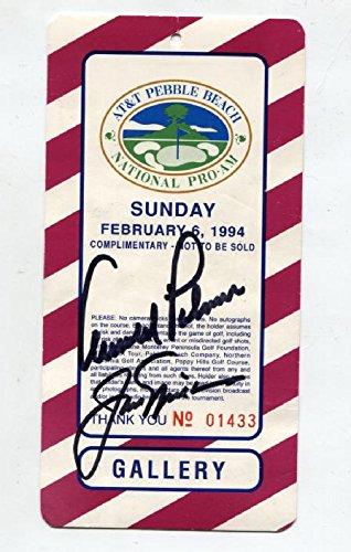 Arnold Palmer Signed Photo - 9
