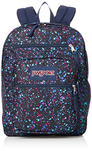 - JanSport Unisex Big Student Splatter Dot Navy One Size