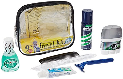 Convenience Kits Clear Deluxe Travel