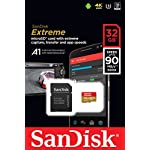Sandisk extreme microsd uhs-3 card [newest version] 8 ideal for 4k uhd and full hd video2 transfer speeds of up to 100mb/s rescuepro deluxe data recovery software