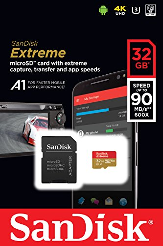 SanDisk Extreme MicroSD UHS 3 Card Newest Version