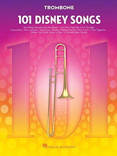 101 Disney Songs  For Trombone   Noten Sammelband Für Posaune