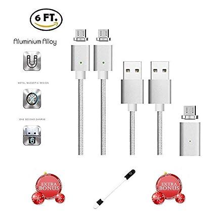 Amazon.com: CoolKo - Cable de carga magnético trenzado para ...