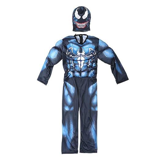 Hope Spiderman Clothes for Boys Venom Traje de Cosplay máscara ...