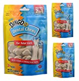 (3 Pack) Dingo Dental Chews Fresh Breath Dog Treats, 24 Chews each Review