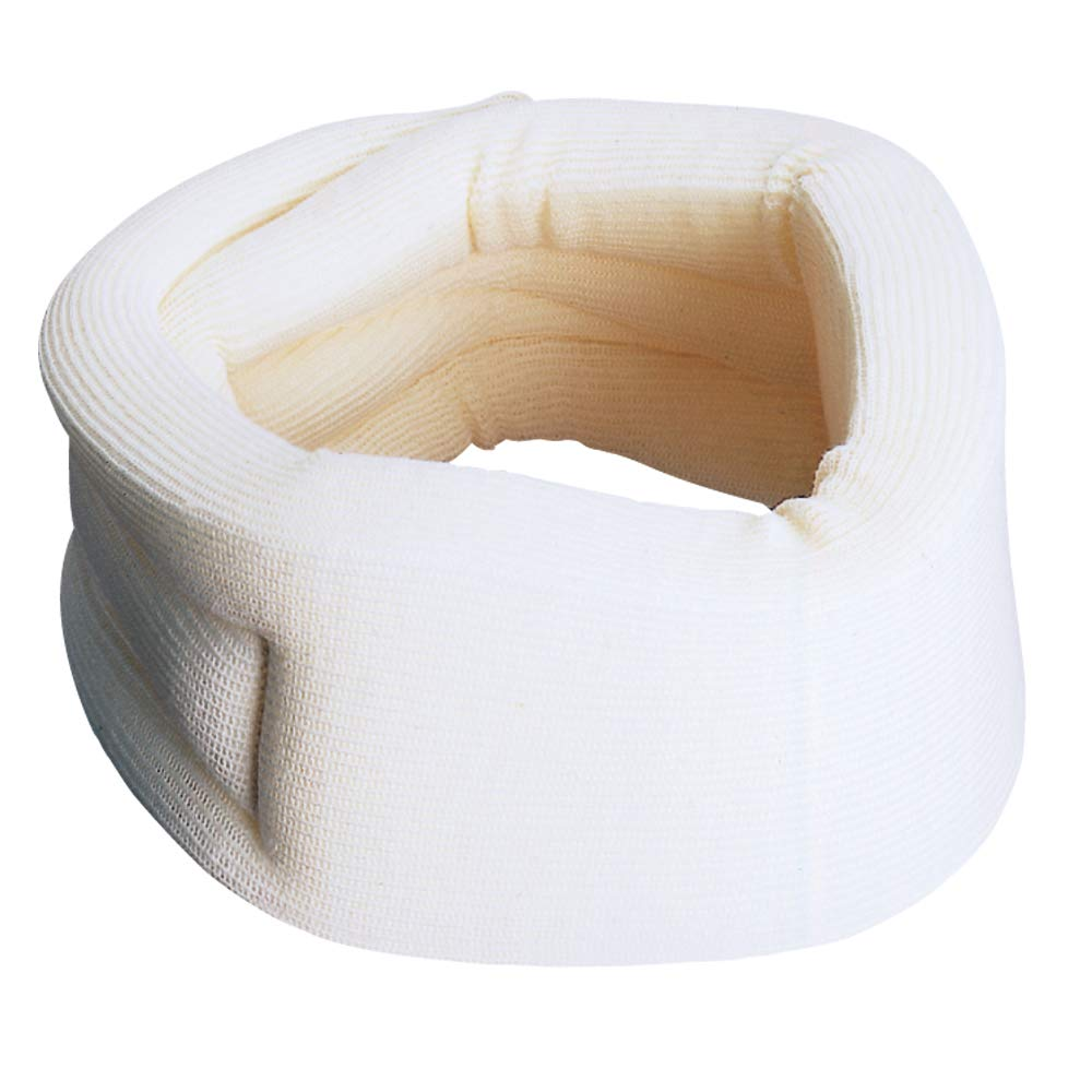 Carex Cervical Collar For Neck Pain - Neck Brace For Neck Pain Relief - Neck Collar After Whiplash or Injury, Made Of Soft Cotton