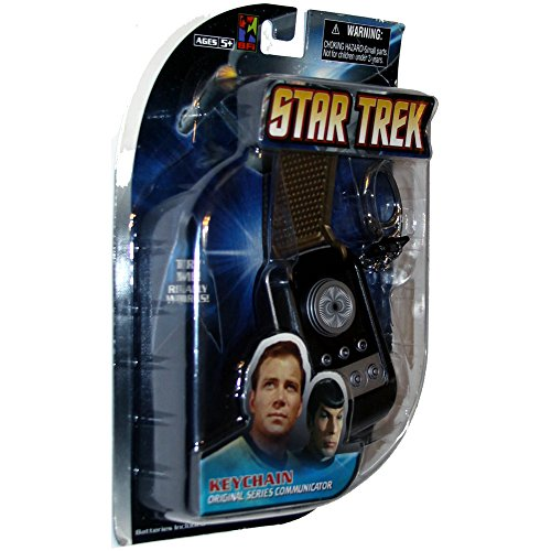 Star Trek (The Original Series) Talking Communicator (Star Trek Communicator Keychain)