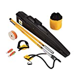 Notch Set1025 Big Shot Throw Line Launcher Deluxe Kit, Black/Yellow