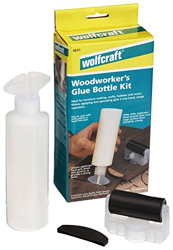 - wolfcraft 4651405 Woodworkers Glue Bottle Kit