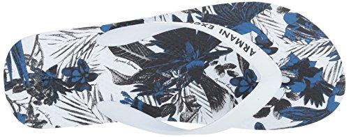 Graphic Flip Armani Exchange Printed X A Exotic Flop Men's White qxYwSXn5g