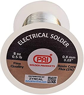 PAI Solder, 8 Oz, Tin Lead 60/40, Rosin Core Flux,