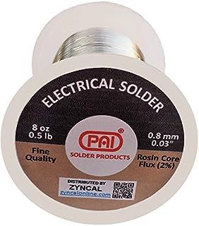 PAI Solder, 8 Oz, Tin Lead 60/40, Rosin Core Flux,