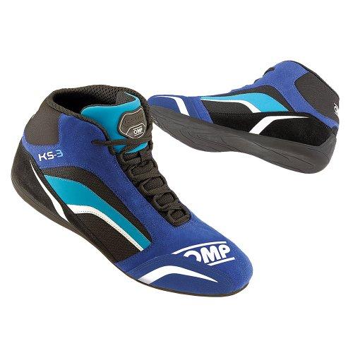 Omp OMPIC/81324144 Schuhe Ks-3 Blau/ Schwarz/ Cyan Größe 44