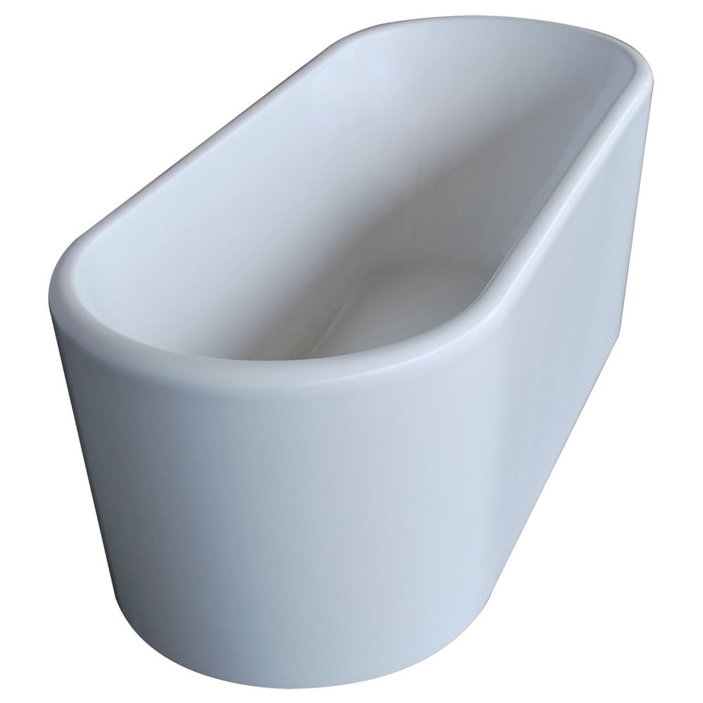Atlantis Whirlpools 6728ensxcwxx Enza Oval Soaking Bathtub, 28 X 67 ...