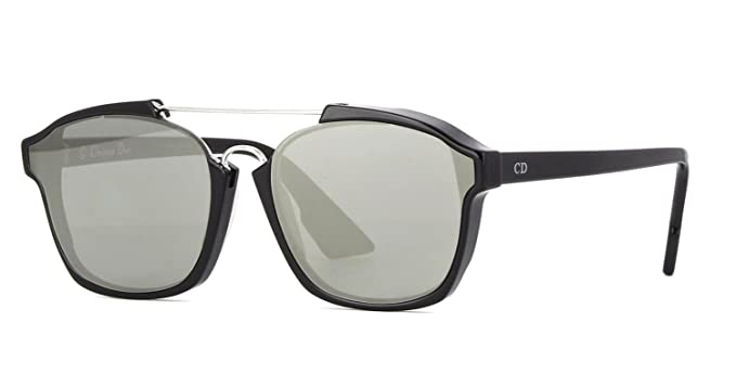 02f237614377e Image Unavailable. Image not available for. Color  New Christian Dior  ABSTRACT 807 0T black silver mirror Sunglasses