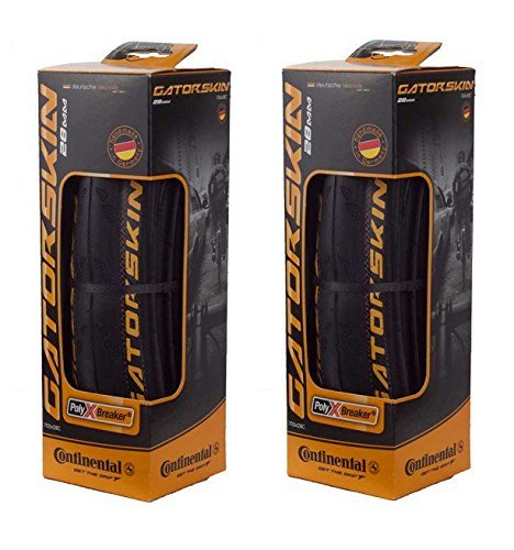 Continental GatorSkin DuraSkin Tire, 2-Count (Folding, 700 x 32mm)