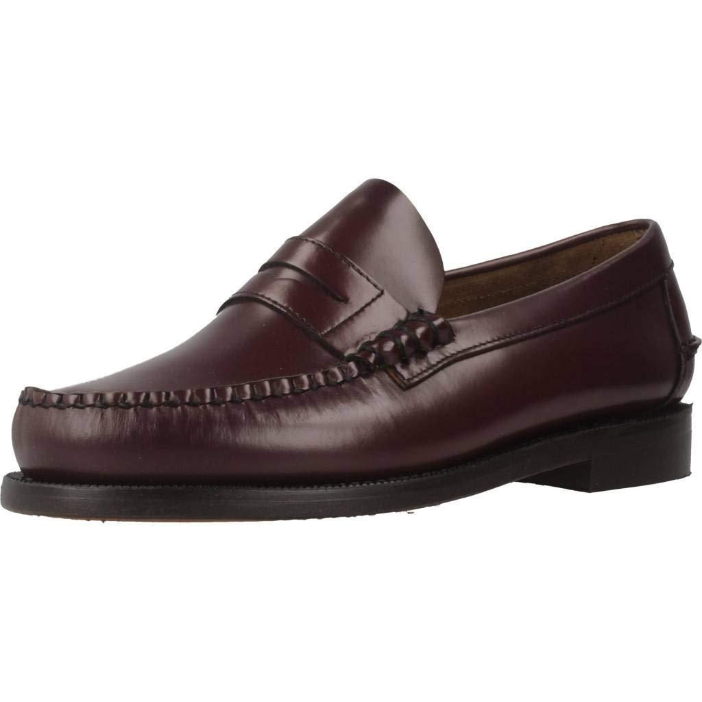 Zapatos de Cordones para Hombre, Color Rojo, Marca SEBAGO, Modelo Zapatos De Cordones para Hombre SEBAGO Classic Penny Brushed Sue Rojo: Amazon.es: Zapatos ...