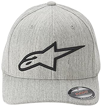 Alpinestars Logoastar Hat Gorra de béisbol, Hombre, Grey (Light Heather Gray/Black