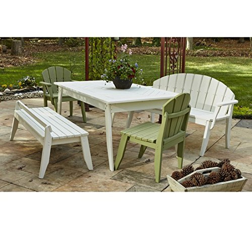 (Uwharrie Chair Co P091-81-Olive Gray-Dist-Pine Plaza Dining Table, 69